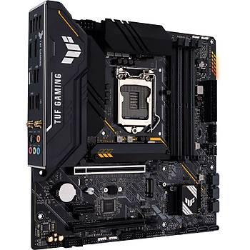 Asus TUF Gaming B560M-PLUS 5000mhz(OC) RGB M.2 Wi-Fi 1200p mATX Anakart