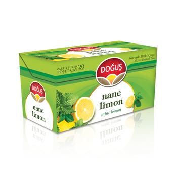 Doðuþ Nane Limon Bitki Çayý Süzen Poþet 20x2gr