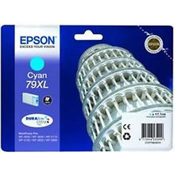 Epson WP5110-5190 Cyan Mavi Yüksek Kapasite Mürekkep Katuþ T79024010