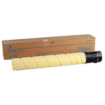 Konica Minolta TN-321Y Yellow Sarý Orjinal Fotokopi Toneri Bizhup C224-284-364 25.000 Sayfa