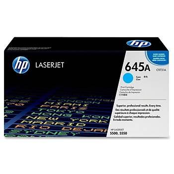 HP 645A Cyan Mavi 12.000 Sayfa Toner C9731A