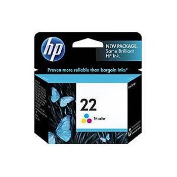 HP 22 Color Renkli Kartuþ C9352AE
