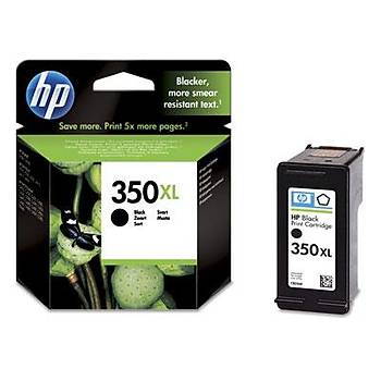 HP 350XL Black Siyah Yüksek Kapasite Kartuþ CB336EE