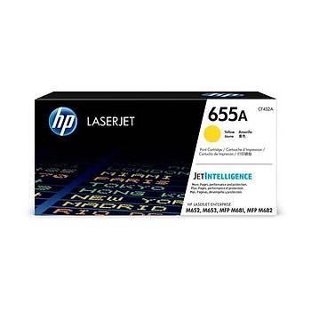 HP 655A Yellow Sarý 10.500 Sayfa Toner CF452A