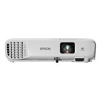 Epson EB-W06 3700 Ansilümen 1280x800 Projeksiyon Cihazý