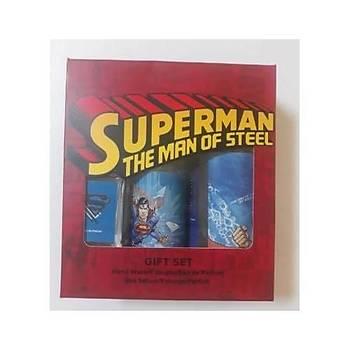 Rebul Warner Bross Superman 3lü Set (EDP 20ml+ EDC 100Ml+ Sývý Sabun 250ml )