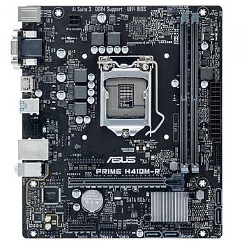 Asus Prime H410M-R-SI Intel H410 LGA1200 DDR4 2933 HDMI VGA M2 USB3.2 COM mATX Anakart