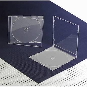 Elba QD-521.01B 1li Þeffaf 5,2mm Slim Cd Kutusu 10 Adet