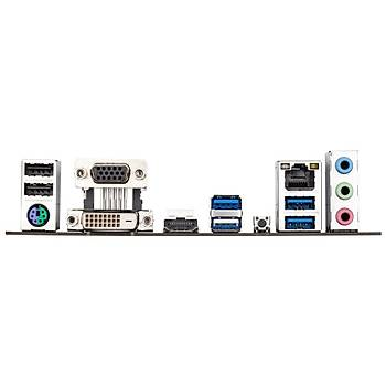 Gigabyte B550M S2H 5000MHz(OC) DDR4 Soket AM4 M.2 HDMI DVI VGA mATX Anakart