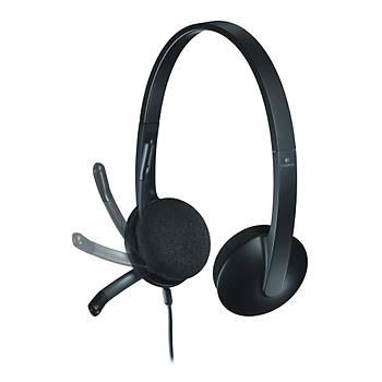 Logitech 981-000475 H340 Siyah Mikrofonlu Kulaküstü Kulaklýk