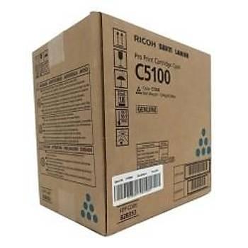 Ricoh C5100C Cyan Mavi Orjinal Fotokopi Toneri Pro C5100