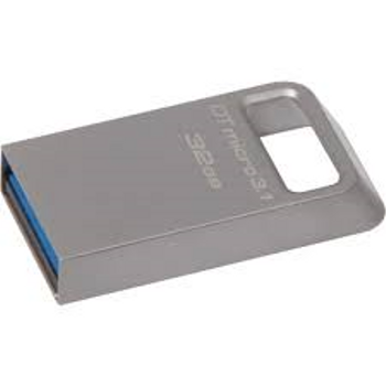 Kingston DTMC3-32 32GB DTMicro USB3.1 Metal Kasa Flash Bellek