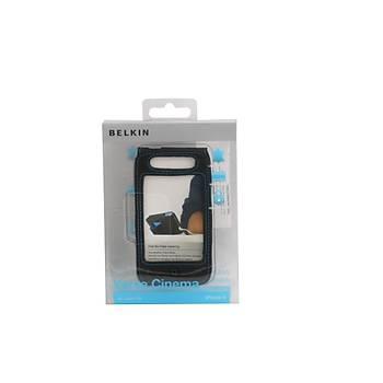 Belkin F8Z636CW Ýphone  4 CÝnema Deri Koruyucu Kýlýf Siyah