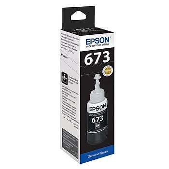 Epson T6731 Black Siyah Þiþe Mürekkep T67314A