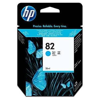HP 82 Cyan Mavi 69ML Kartuþ C4911A