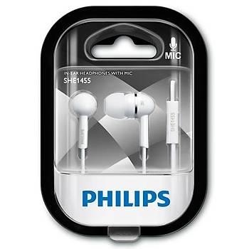 Philips SHE1455 Beyaz Kulaklýk