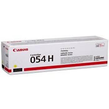 Canon CRG-054H Y Yellow Sarý Yüksek Kapasiteli Toner MF645