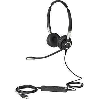 Jabra Býz 2400 USB Wired Voýp Telephone Headset Kulaklýk