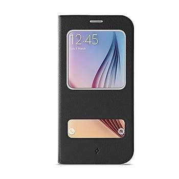Ttec 2KLYK41S Samsung S6 Siyah Flipcase Smart Koruma Kýlýfý
