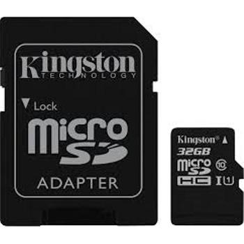 Kingston SDCS2 32GB microSDHC Canvas Select Plus 100R A1 C10 MicroSD Hafýza Kartý