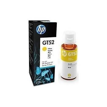 HP GT52 Yellow Sarý Mürekkep M0H56AE