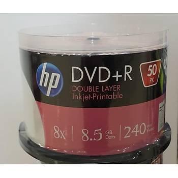 HP DVD+R DL 8.5G Printable 50 Cakebox