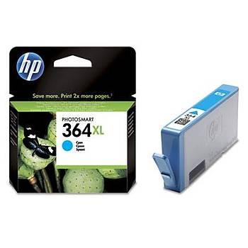 HP 364XL Cyan Mavi Yüksek Kapasite Kartuþ CB323EE