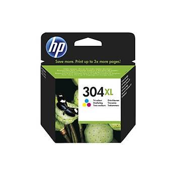 HP 304XL Color Renkli Yüksek Kapasiteli Kartuþ N9K07AE