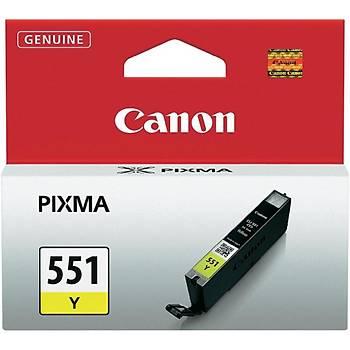 Canon CLI-551Y Yellow Sarý Mürekkep Kartuþ IP7250 MX925
