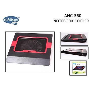 Addison ANC-360 Notebook Soðutucu Stand Kýrmýzý