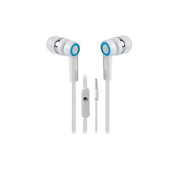 Snopy SN-J5 Mobil Telefon Uyumlu Kulak içi Beyaz Mikrofonlu Kulaklýk