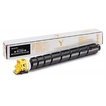 Kyocera TK-8525Y Yellow Sarý Orjinal Fotokopi Toneri Taskalfa 4052ci-4053ci 20.000 Sayfa