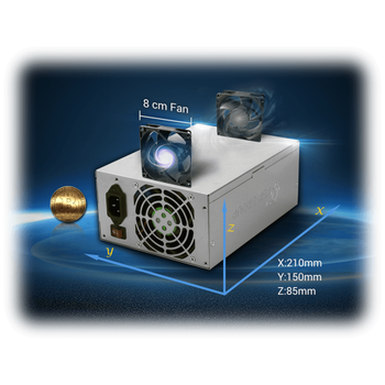 Fsp Cannon Fsp1300-50Yd 1300W 12Xpcý Express Bitcoin Mining Powersuply