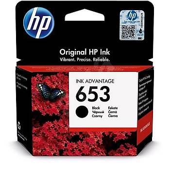 HP 653 Black Siyah Kartuþ 3YM75AE