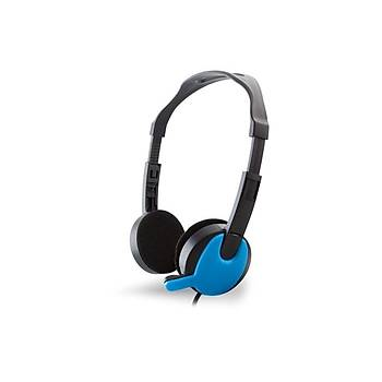 Snopy SN-717 Siyah Mavi Mikrofonlu Kulaklýk