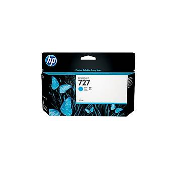 HP 727 Cyan Mavi 130ML Plotter Kartuþu B3P19A