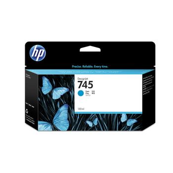 HP 745 Cyan Mavi 300ML Plotter Kartuþu F9K03A