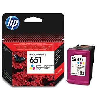 HP 651 Color Renkli Kartuþ C2P11AE