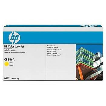 HP 824A Yellow Sarý 23.000 Sayfa Drum CB386A