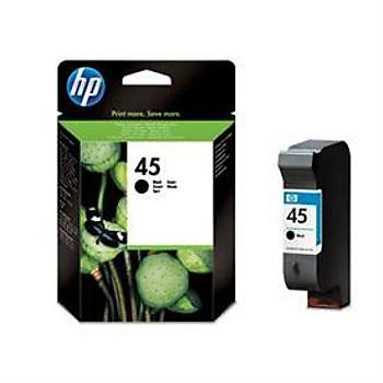 HP 45 Black Siyah 42ML Kartuþ 51645A