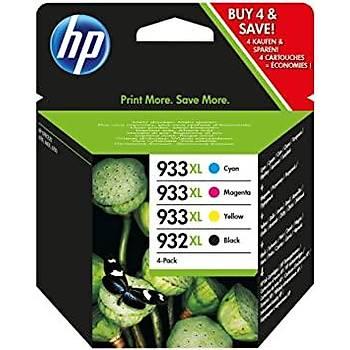 HP 932XL-933XL 4 Renk Multipack Kartuþ Takýmý C2P42AE