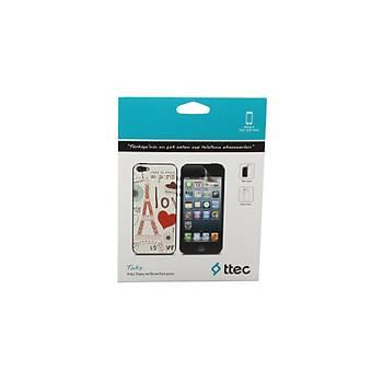 Ttec Iphone 5 Desenli  Arka Yüzey Ve Ekran Koruyucu