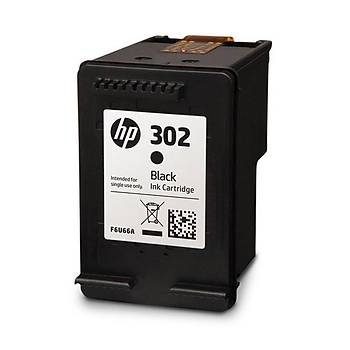 HP 302 Black Siyah Kartuþ F6U66AE