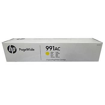 HP 991AC Yellow Sarý 16.000 Sayfa Kartuþ X4D16AC