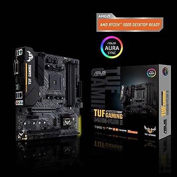 Asus Tuf B450M-Plus II Gaming BIOS FlashBack AMD B450 Soket AM4 DDR4 3466(OC)MHz mATX Gaming Anakart