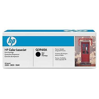 HP 122A Black Siyah 4.000 Sayfa Toner Q3960A