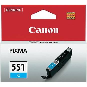 Canon CLI-551C Cyan Mavi Mürekkep Kartuþ IP7250 MX925