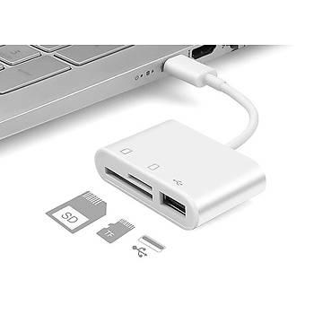 Hytech HY-XO50 TypeC to USB2.0 + SD + TF