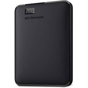 WD 5TB Elements Portable External Hard Drive, USB 3.0 - WDBU6Y0050BBK-WESN Harici Harddisk