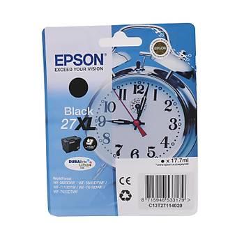 Epson 27XL Black Siyah Mürekkep Kartuþ T27114022